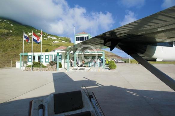 Saba Juancho Yrausquin airport